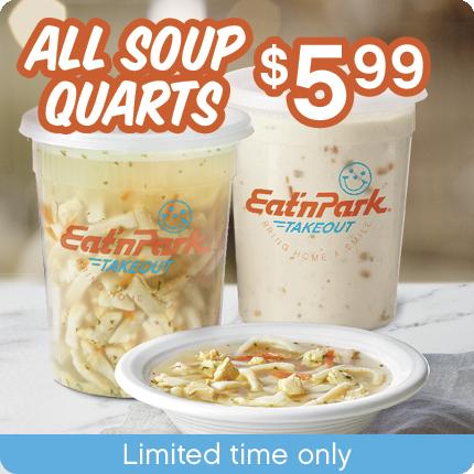 All Soup Quarts $5.99